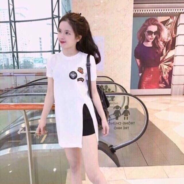 Hình ảnh Sét áo dáng dài kèm quần