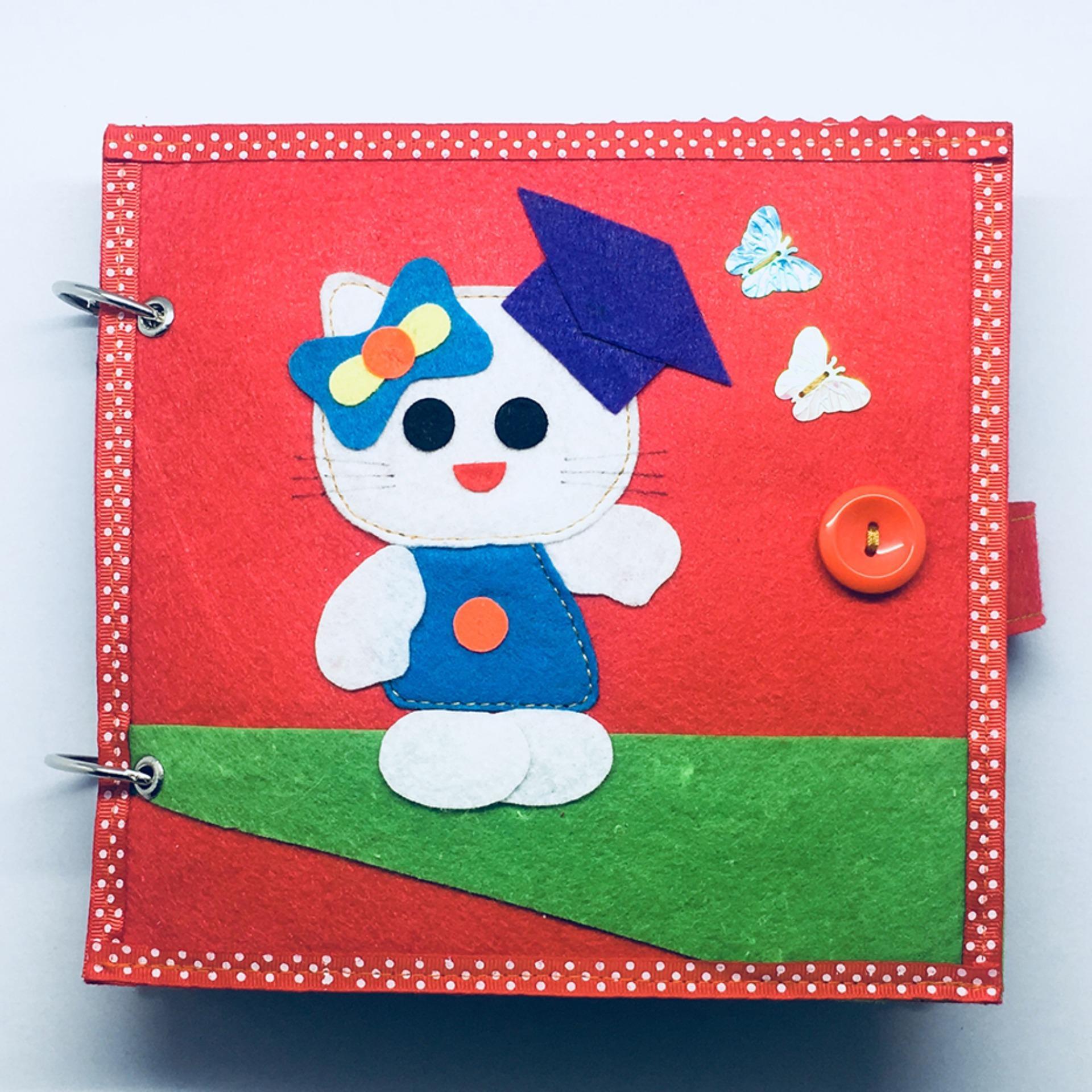 Hình ảnh Sách vải - Sách vải cho bé Mầm non (mẫu 07) - Sách vải PLC