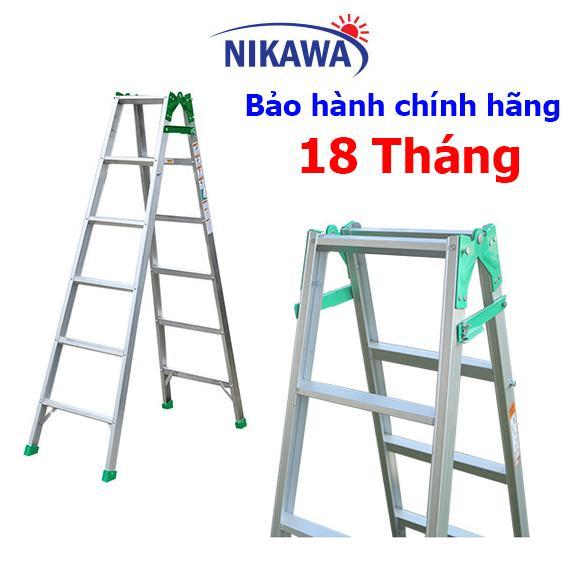 Thang Nhôm CHỮ A Nikawa NKY6C Nhật Bản - 3,4m tải trọng 110kg