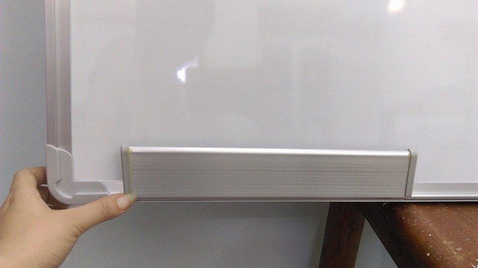 Mua Bảng từ trắng Hàn Quốc 60*100 cm ( Tặng kèm bút lông bảng, bông lau, nam châm)