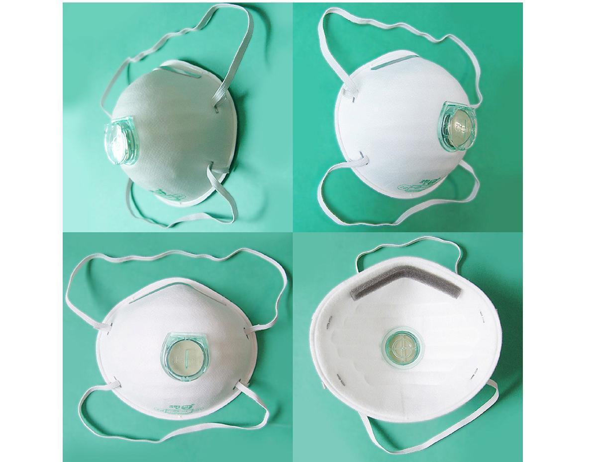 Bộ 5 Khẩu Trang Hàn Quốc 225V, khẩu trang chống bụi có van lọc chống mùi kháng cúm, chống khói hàn,bui xi măng, cơ khí