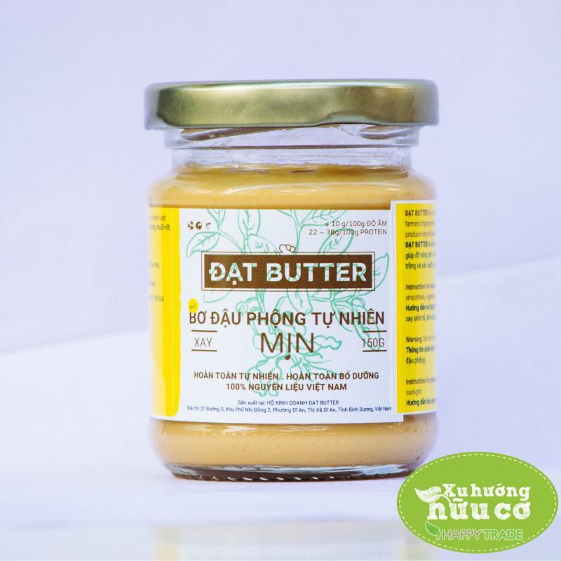 Hình ảnh Bơ đậu phộng xay mịn tự nhiên Đạt Butter (150g)