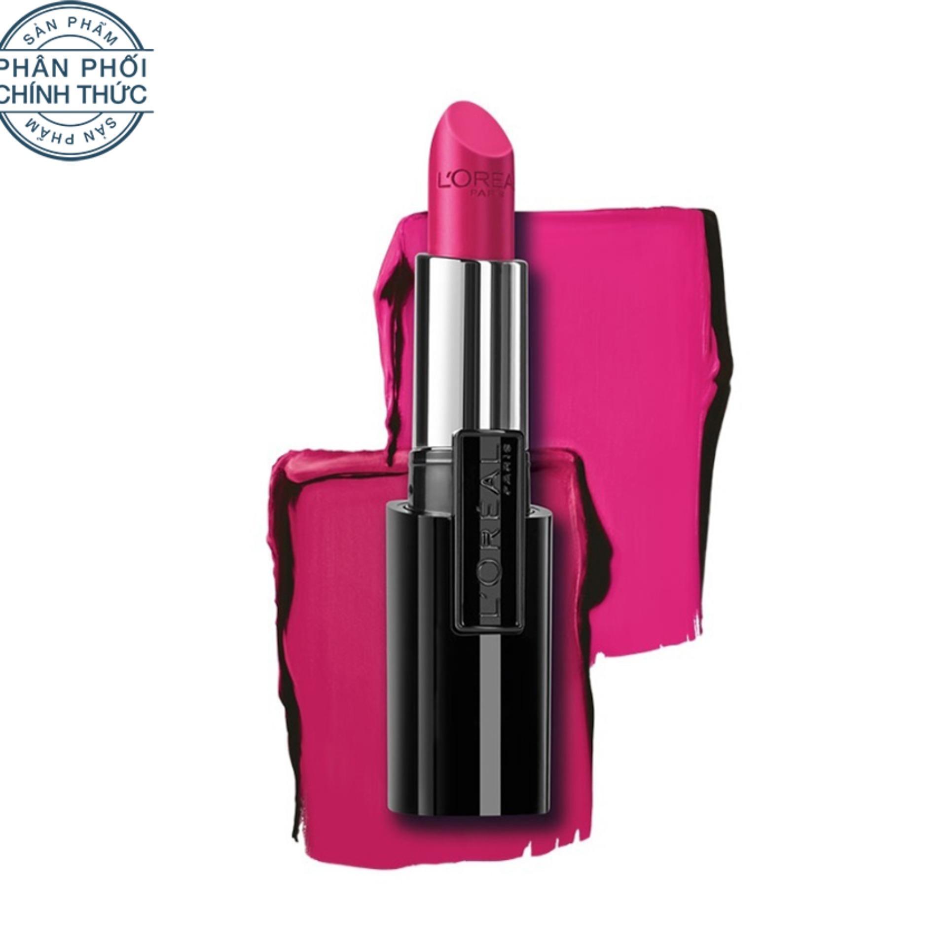 Bán Son Mau Lau Troi 10 Tiếng L Oreal Paris Infallible Le Rouge 121 Perennial Pink Hồng Da Rẻ