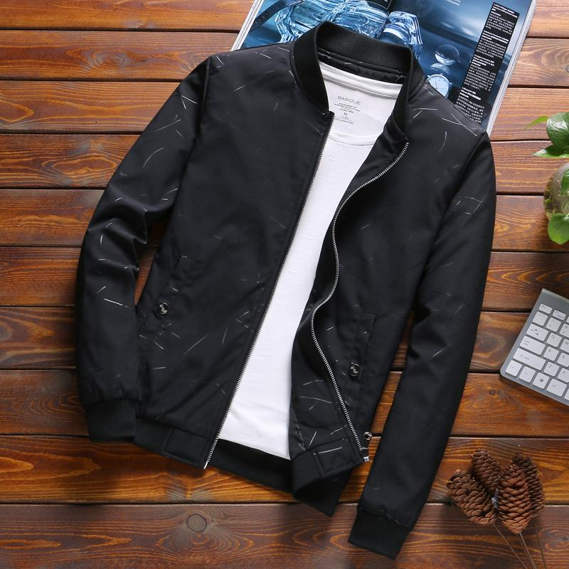 087757cdab1bc 2019 Spring Men's Coat New Style Korean Style Slim Fit Trend Handsome Jacket  Cool Office Workers