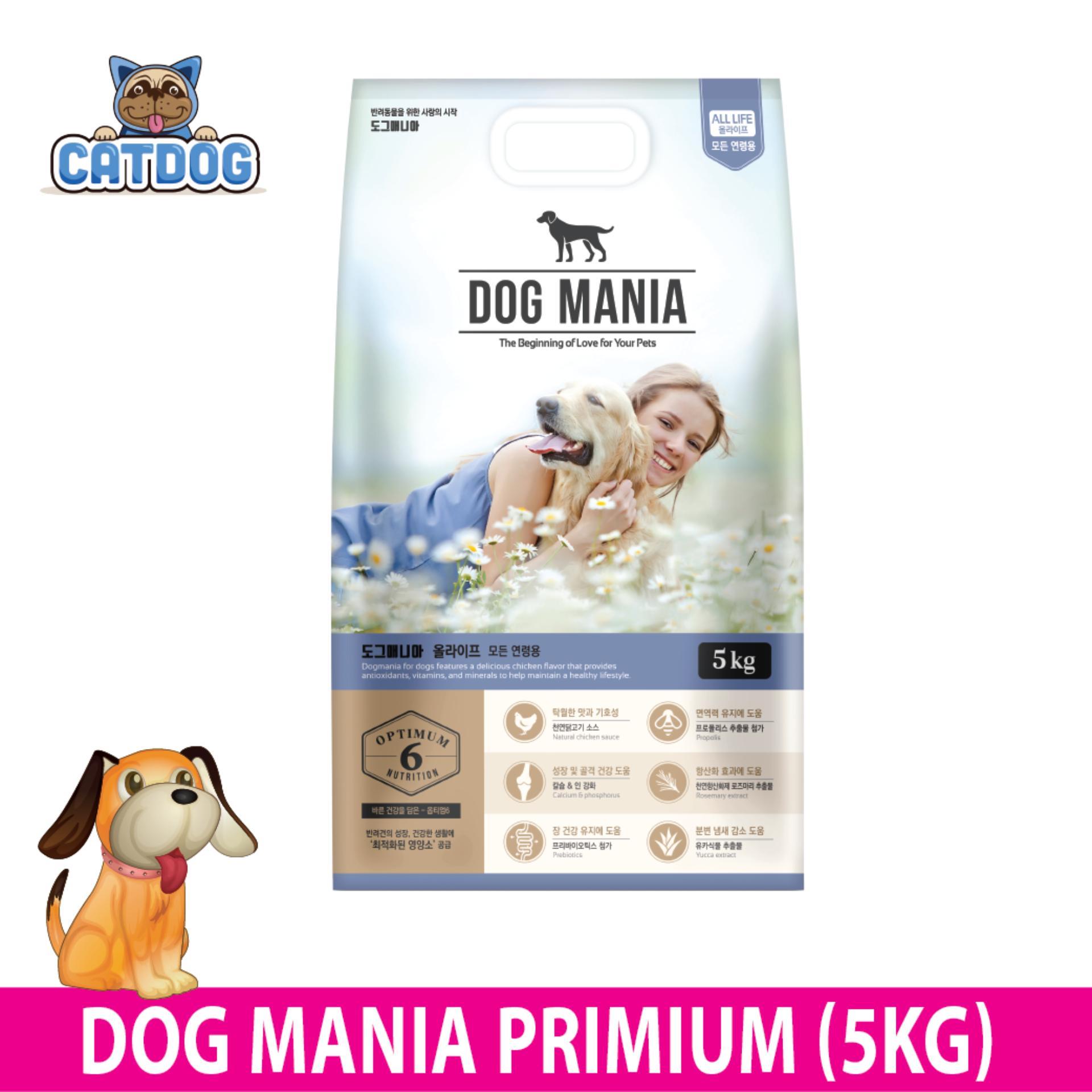 Bán Thức Ăn Hạt Dog Mania Premium 5Kg Cho Hà Nội