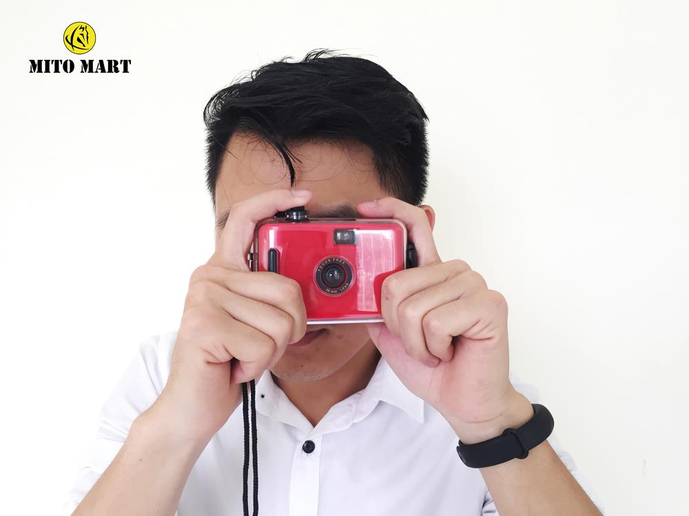 Hình ảnh [Mã giảm giá MAYANH20] Máy chụp hình dưới nước Lomography - máy ảnh du lịch chụp dưới nước tặng film