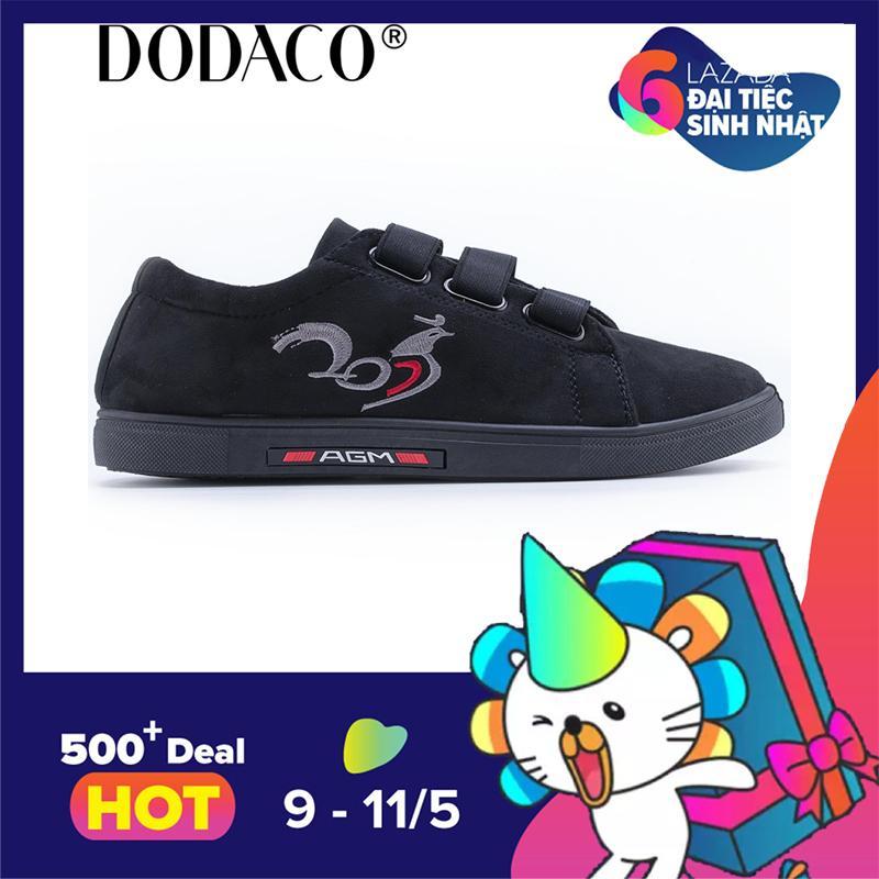 Bán Giay Sneaker Nam Giay Thể Thao Nam Thời Trang Nam Dodaco Ddc1991 Đen Dodaco Có Thương Hiệu
