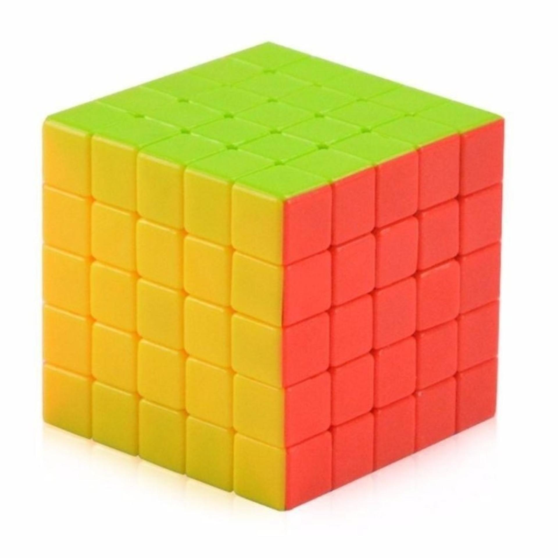 Hình ảnh Rubik 5x5 trơn không viền cao cấp