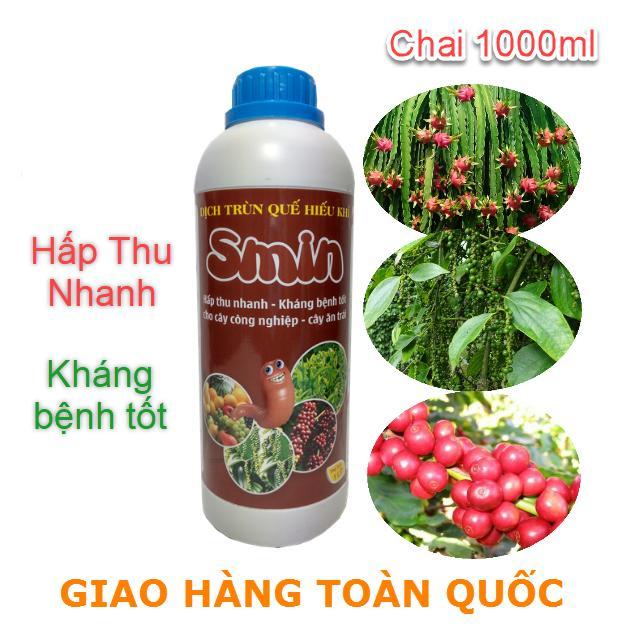 Bán Chế Phẩm Sinh Học Trun Quế Smin Cho Cay Ăn Trai Va Cay Cong Nghiệp Chai 1000Ml Tqcc Trong Hồ Chí Minh