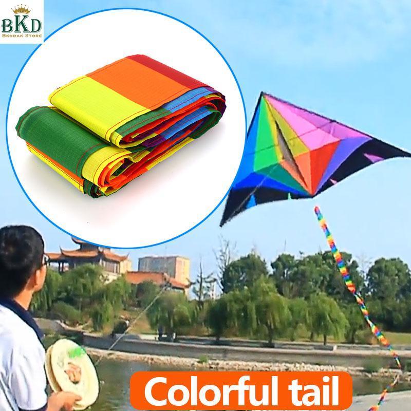 Hình ảnh Bkodak Store 10m Polyester Multicolor Kite Tail Kite Accessories