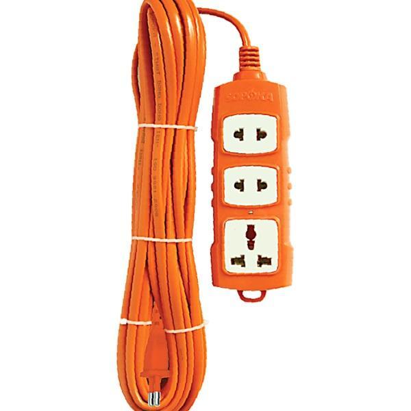 Ổ cắm điện công suất cao 3000W 10 Mét Sopoka
