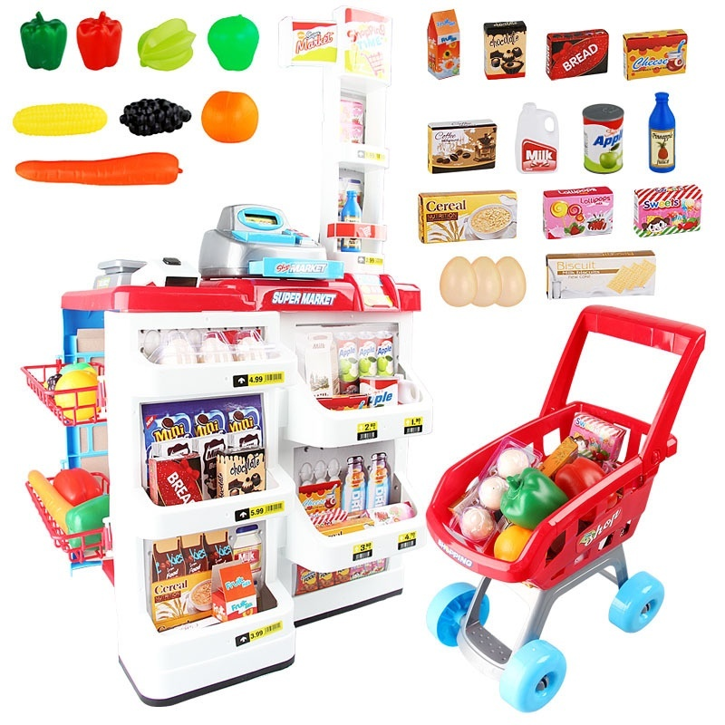 Bộ thu ngân xe đẩy siêu thị 5