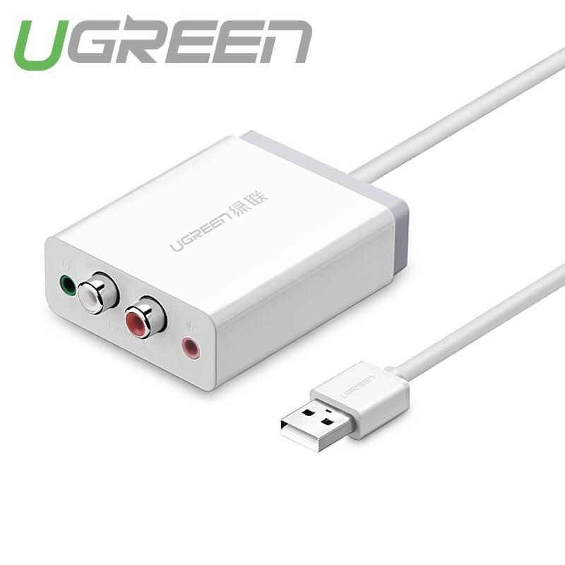 Bộ chuyển âm thanh USB ra 2 đầu