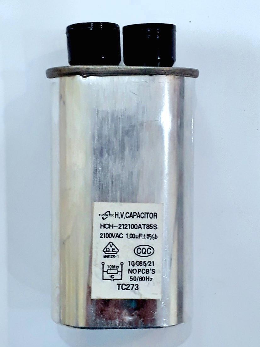 Hình ảnh Tụ điện HCH-212100AT85S 2100VAC 1.00mF+5% ( Dùng cho lò vi sóng)
