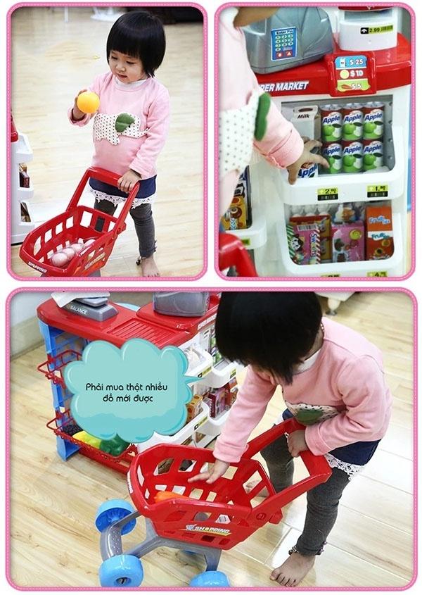 Bộ thu ngân xe đẩy siêu thị 9