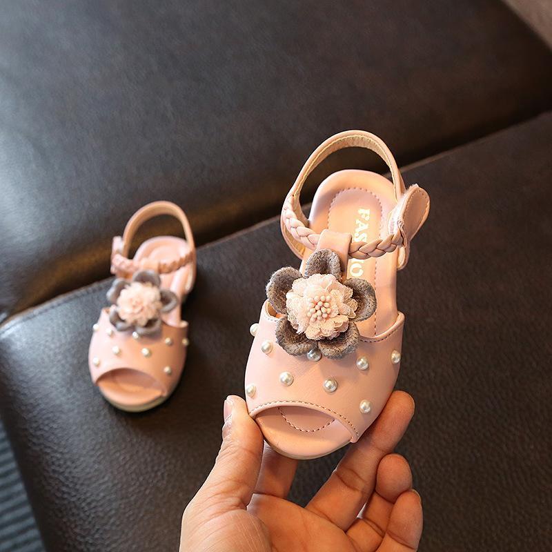 Sandal Anak Perempuan Mulut Ikan Anti Licin Versi Korea By Koleksi Taobao.