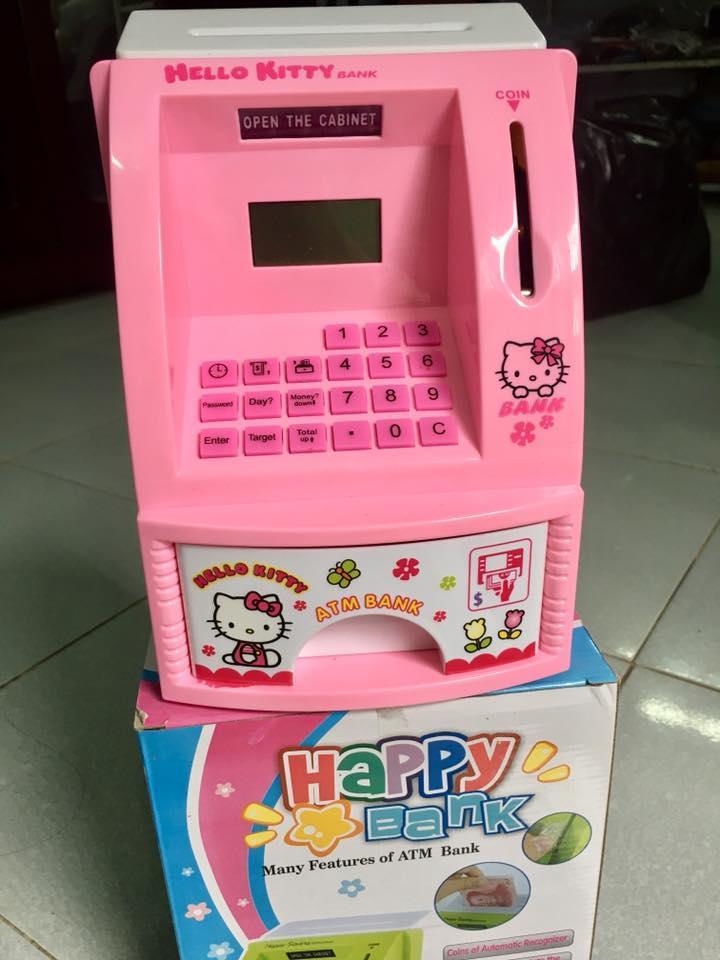 Hình ảnh Máy ATM ống heo tiết kiệm cho bé