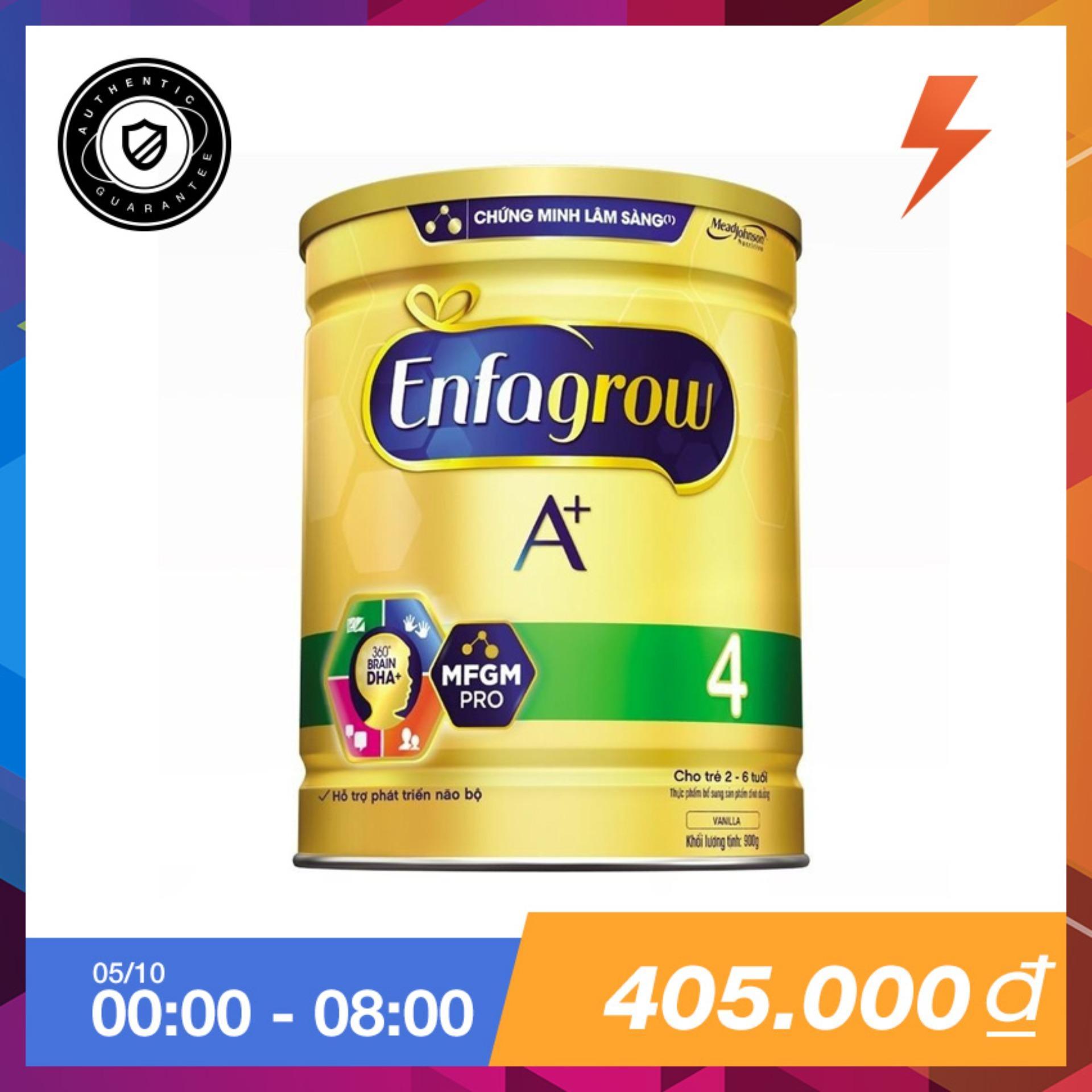 Ôn Tập Sữa Bột Enfagrow A 4 Dha Va Mfgm 900G Enfa
