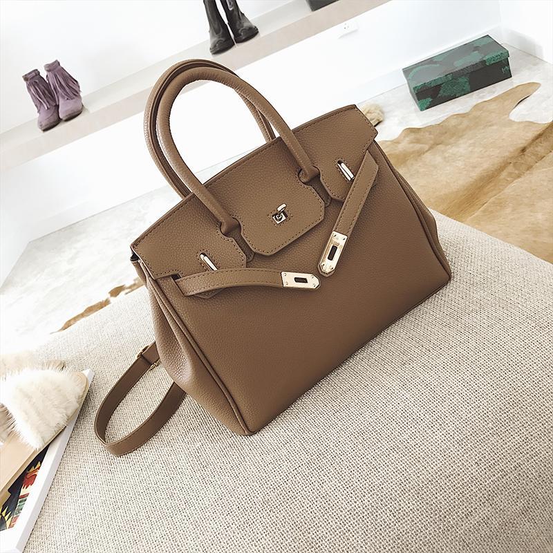 Europe And America Fashion Womens Handbag Bag Female 2019 Spring And Summer New Style Versatile large bag Single-shoulder Bag for Women Shoulder Bag