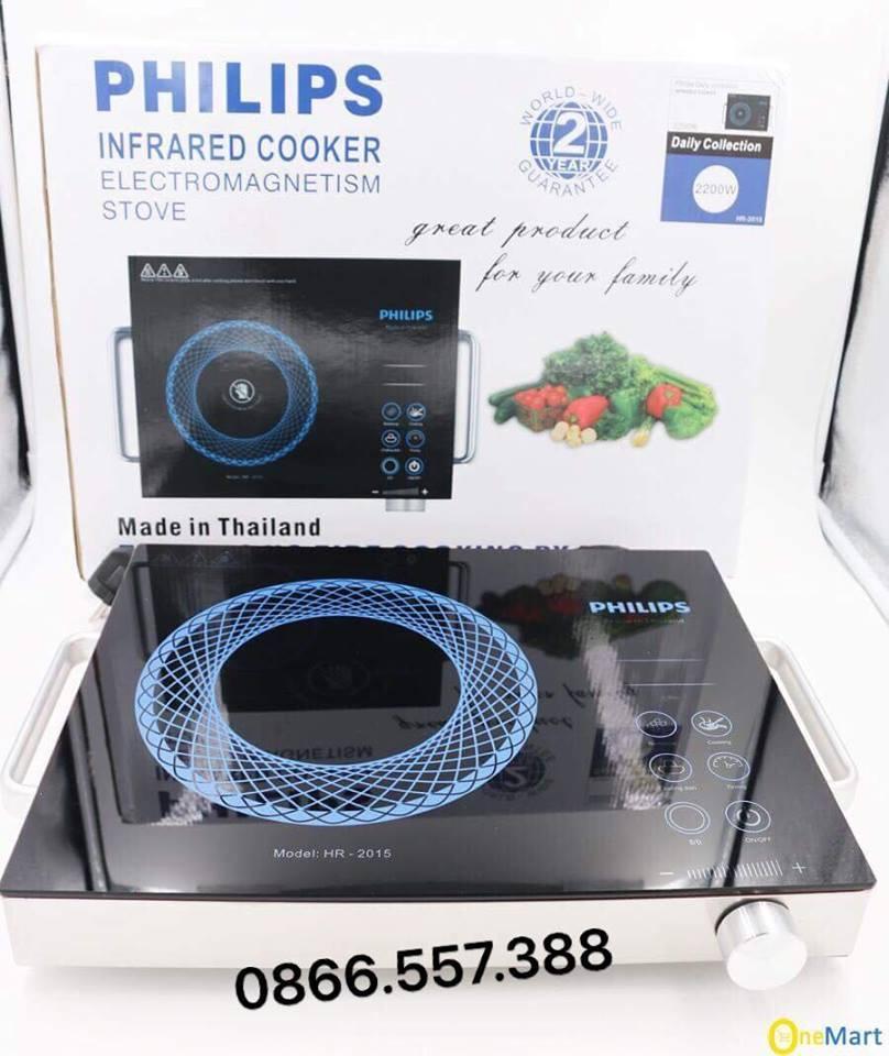 Hình ảnh Bếp Hồng Ngoại Philips giá rẻ, uy tín, chất lượng nhất- BẢO HÀNH 2 NĂM