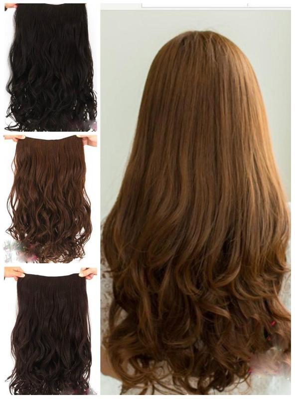 tóc kẹp xoăn - tóc giả nhập khẩu