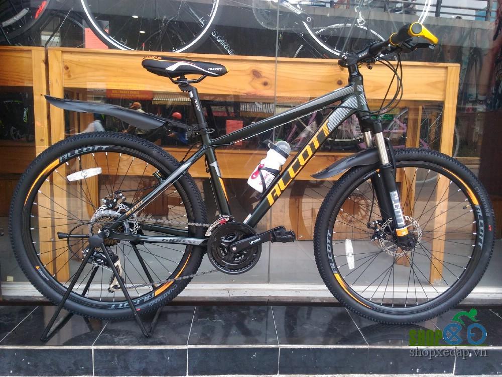 Xe đạp địa hình Alcott 6100XC Black Orange