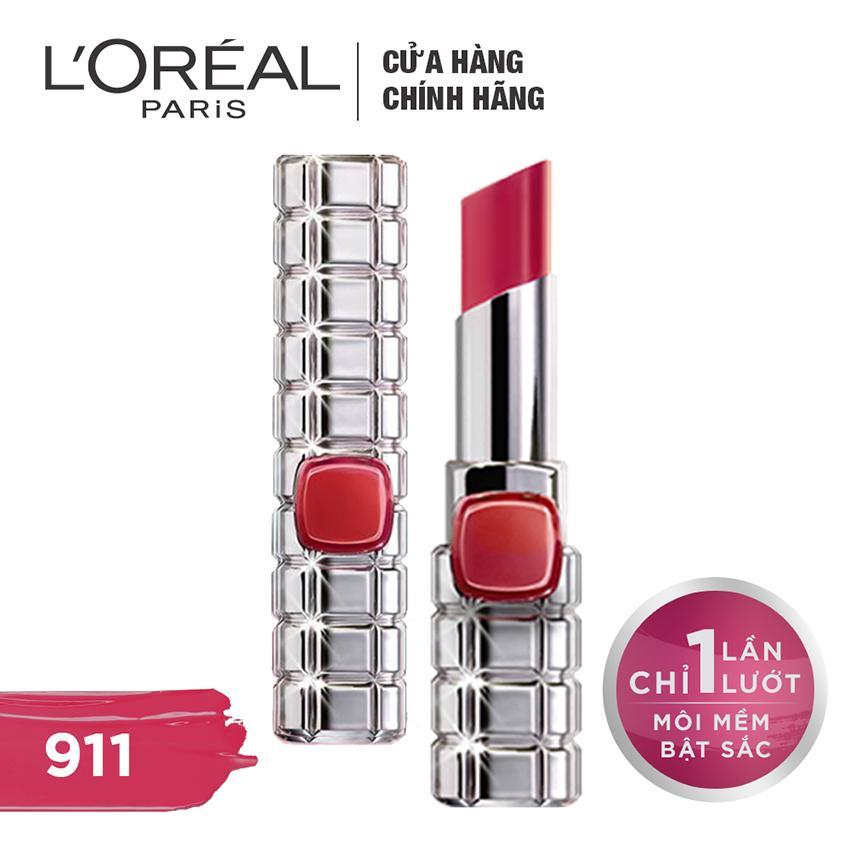 Ôn Tập Son Mau Dưỡng Moi L Oreal Paris Color Riche Shine On 911 Mauve Intensite