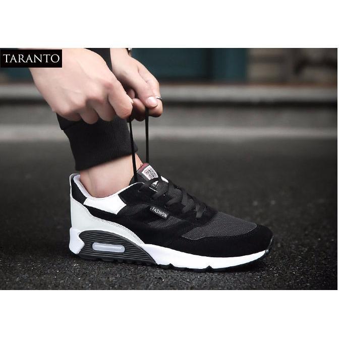 Ôn Tập Giay Sneaker Thể Thao Nam Trt Gttn 18 De Mau Đen Taranto Trong Việt Nam