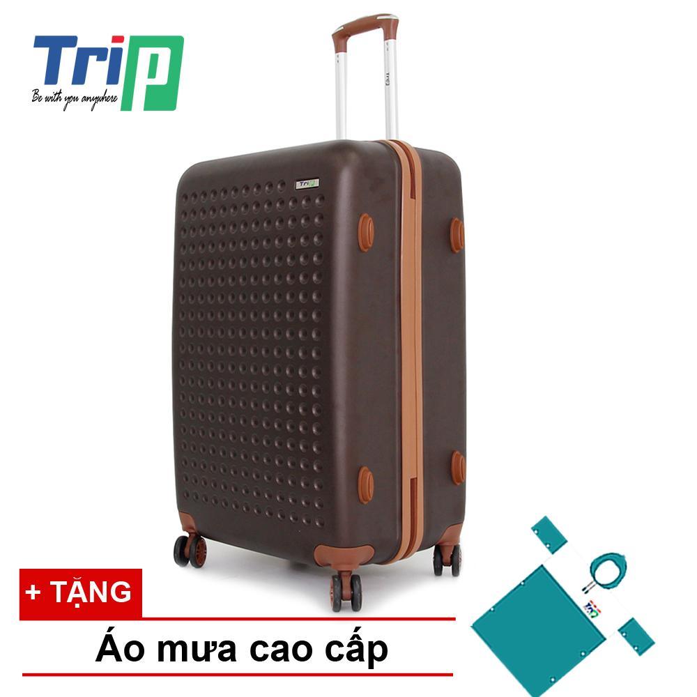 Cửa Hàng Vali Trip P803A Size 70Cm 28Inch Mau Cafe Rẻ Nhất