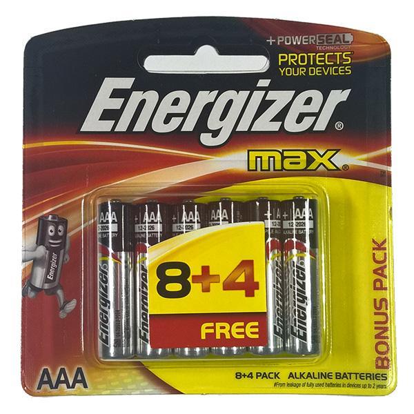 Pin AAA Energizer(vỉ 12 viên)
