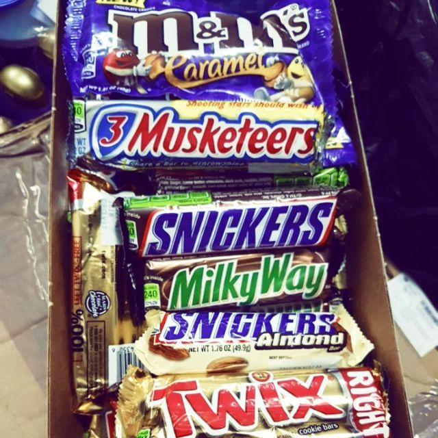 Thanh socola các loại của Mỹ M&M