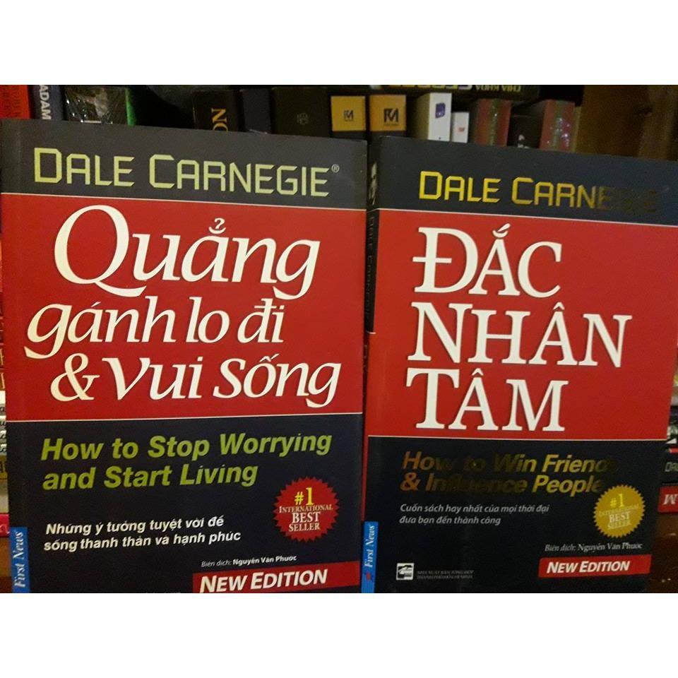 Mua Combo sách Đắc Nhân Tâm + Quẳng Gánh Lo Đi và Vui Sống
