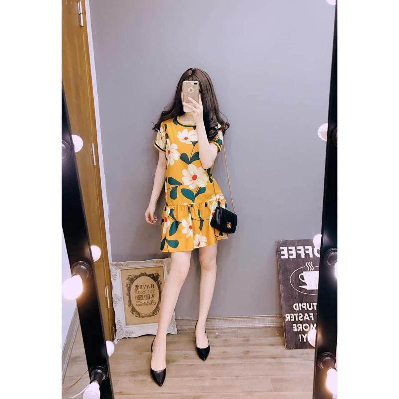 Nơi bán Đầm Hoa Ngắn Tay Đuôi Thời Trang Sunshine DAMNU 0003Y