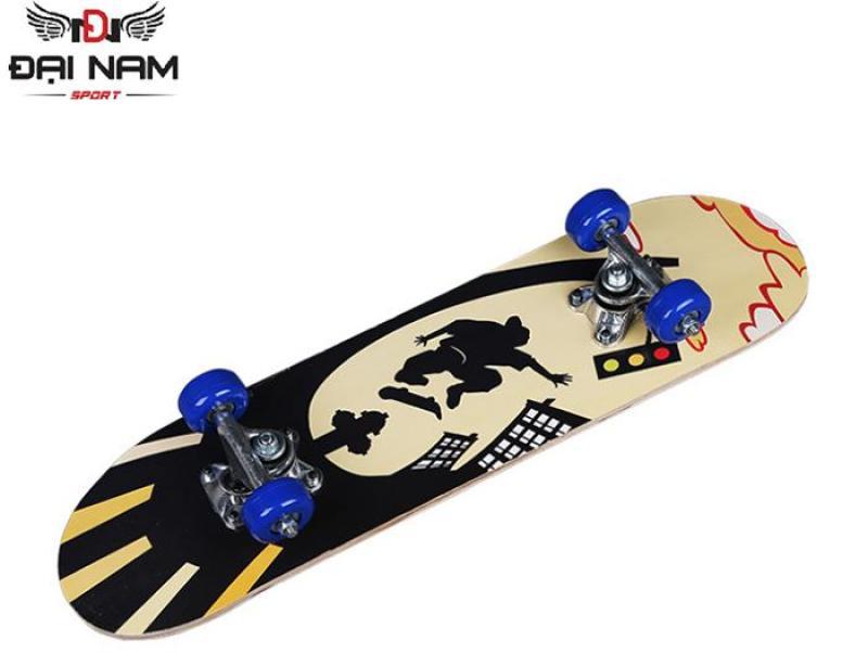 Ván trượt trẻ em Skateboard mặt nhám cỡ nhỏ-Tiêu chuẩn thi đấu