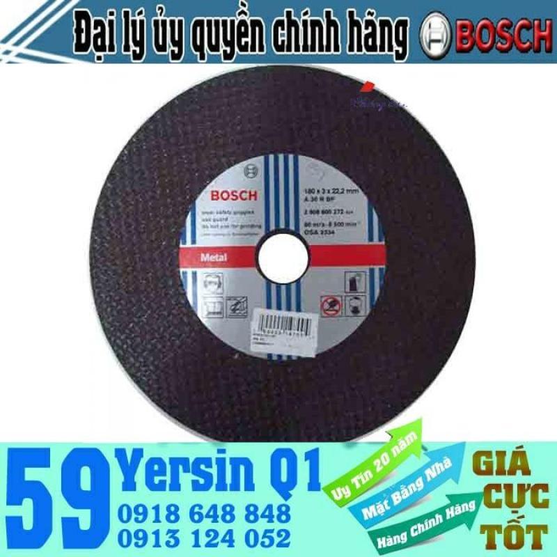 Đá cắt sắt Bosch 2608600272 180x3x22.2mm