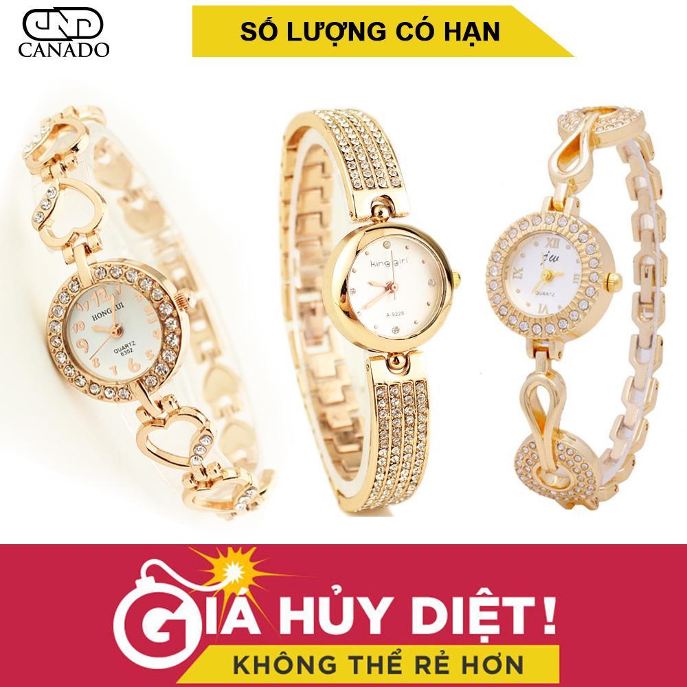 Cửa Hàng Bán Canado Combo 3 Đồng Hồ Nữ King G*rl Day Inox Chống Rỉ Nuc20208 Nuc20209 Cw001