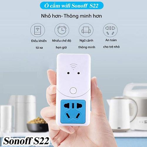Hình ảnh Ổ Cắm Sonoff S22 Điều Khiển Từ Xa Kết Nối Wifi