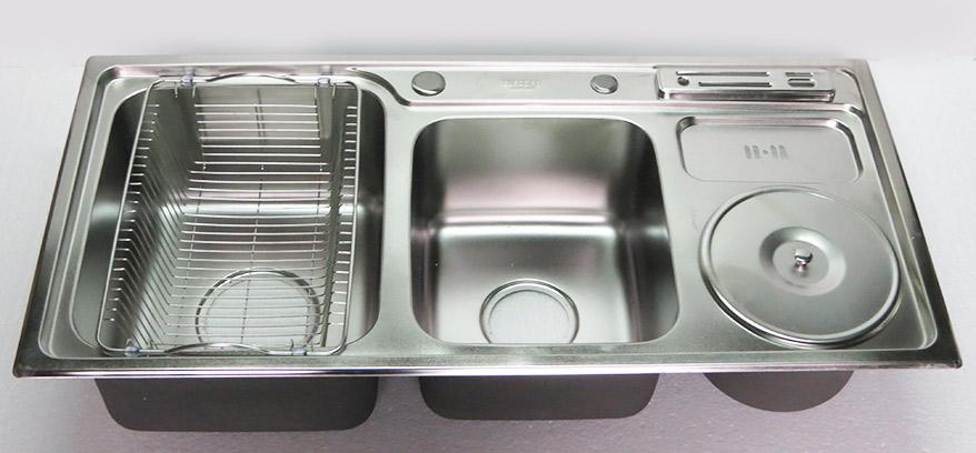 Chậu-rửa-chén-Inox-2-hộc-một-hố-rác-Eurolife-EL-C4-(Trắng-bạc)-14.jpg