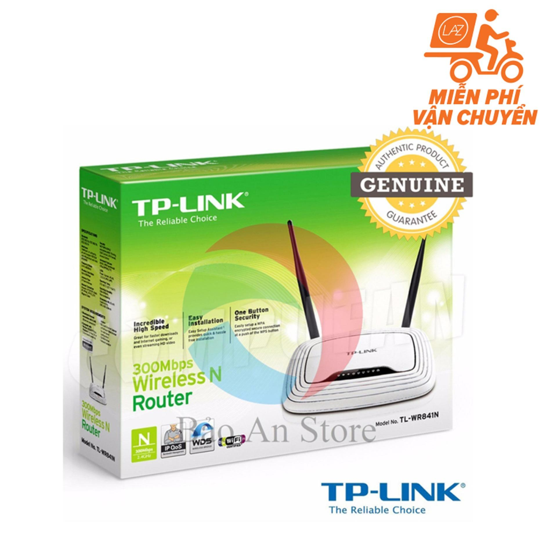Mua Router Wifi Tp Link Tl Wr841N New Edition 2017 Trắng Rẻ Hà Nội