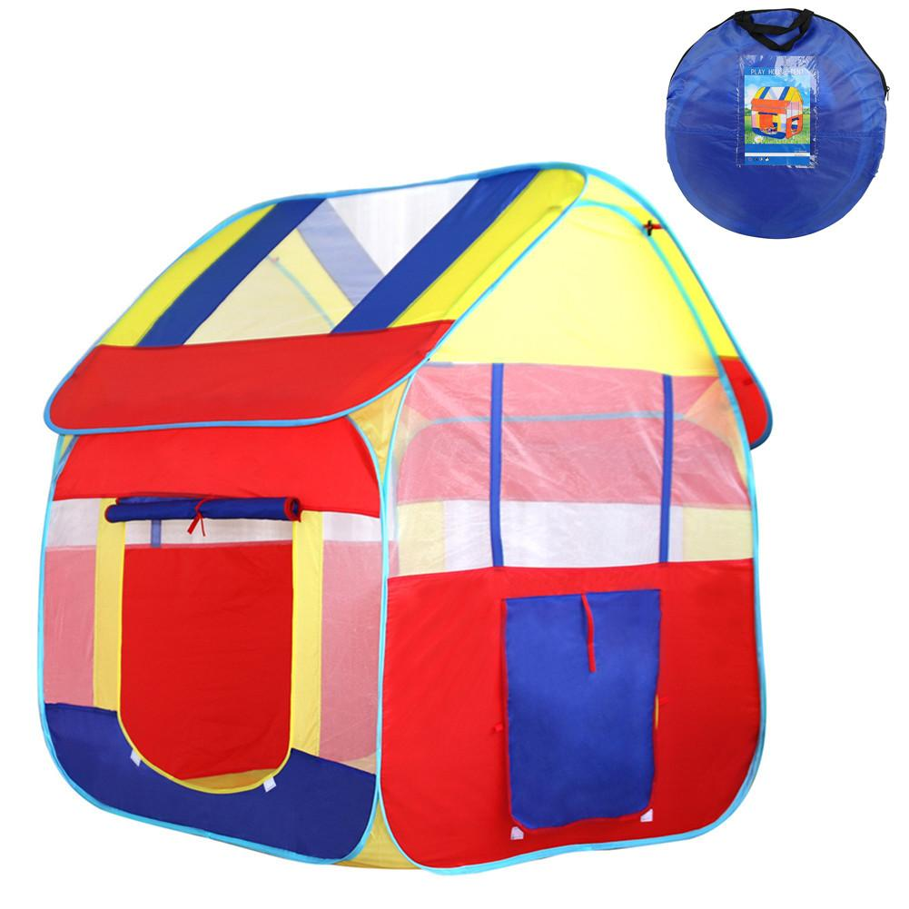 Blue Child Playhouse Tents Indoors/Outdoors House For Boys & Girls Perfect Gift For Toddlers