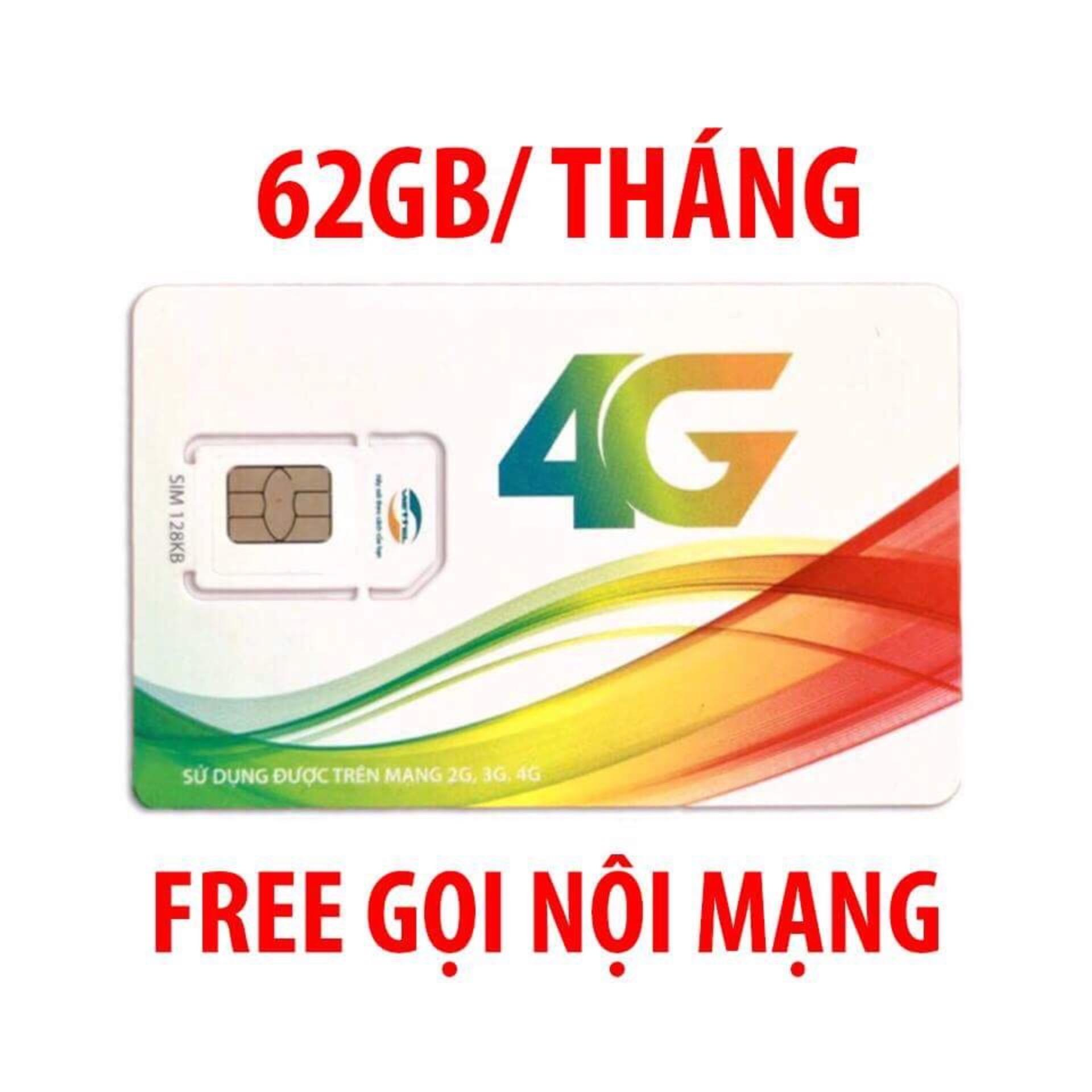Hình ảnh SIM 4G VIETTEL V90 miễn phí gọi nội mạng, tặng 62GB/THÁNG