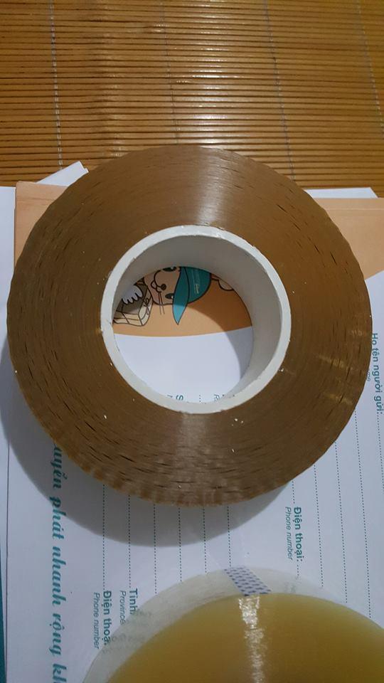 Mua Combo 5 Cuộn Băng Dính (Băng Keo) Cuộn Lớn 800Gr Lõi mỏng 5mm (Tặg Giá ĐT Heo Xih,Lưỡi Dorco)