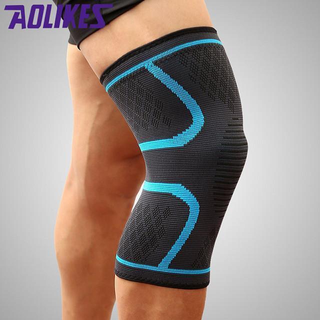Đôi Băng gối tránh chấn thương khi chơi thể thao, tập yoga, chạy bộ, bóng chuyền, tennis, cầu lông... chất liệu cao cấp hiệu Aolikes Nhật Bản
