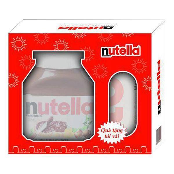 Hình ảnh MỨT PHẾT CHOCOLATE HẠT DẺ NUTELLA HỘP 680G