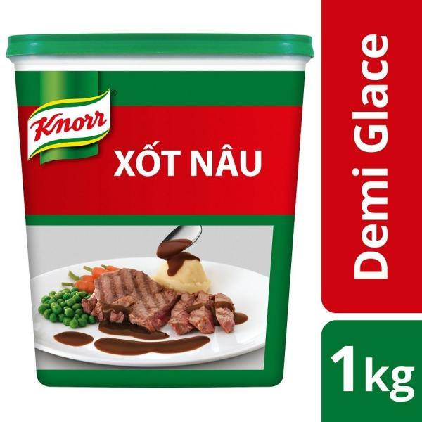 Xốt nâu Demi Glace Knorr 1kg