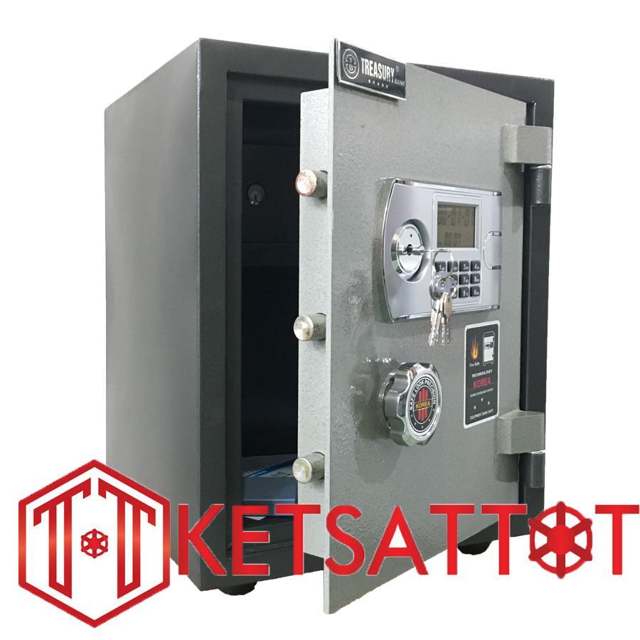Két sắt chống cháy Treasury bank T50E ( khóa điện tử)