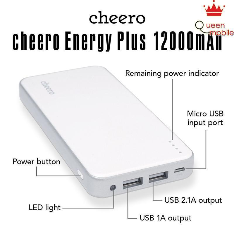Pin sạc dự phòng Nhật Bản bền đẹp cheero Energy Plus CHE-050 (12000mAh) – Review và Đánh giá sản phẩm