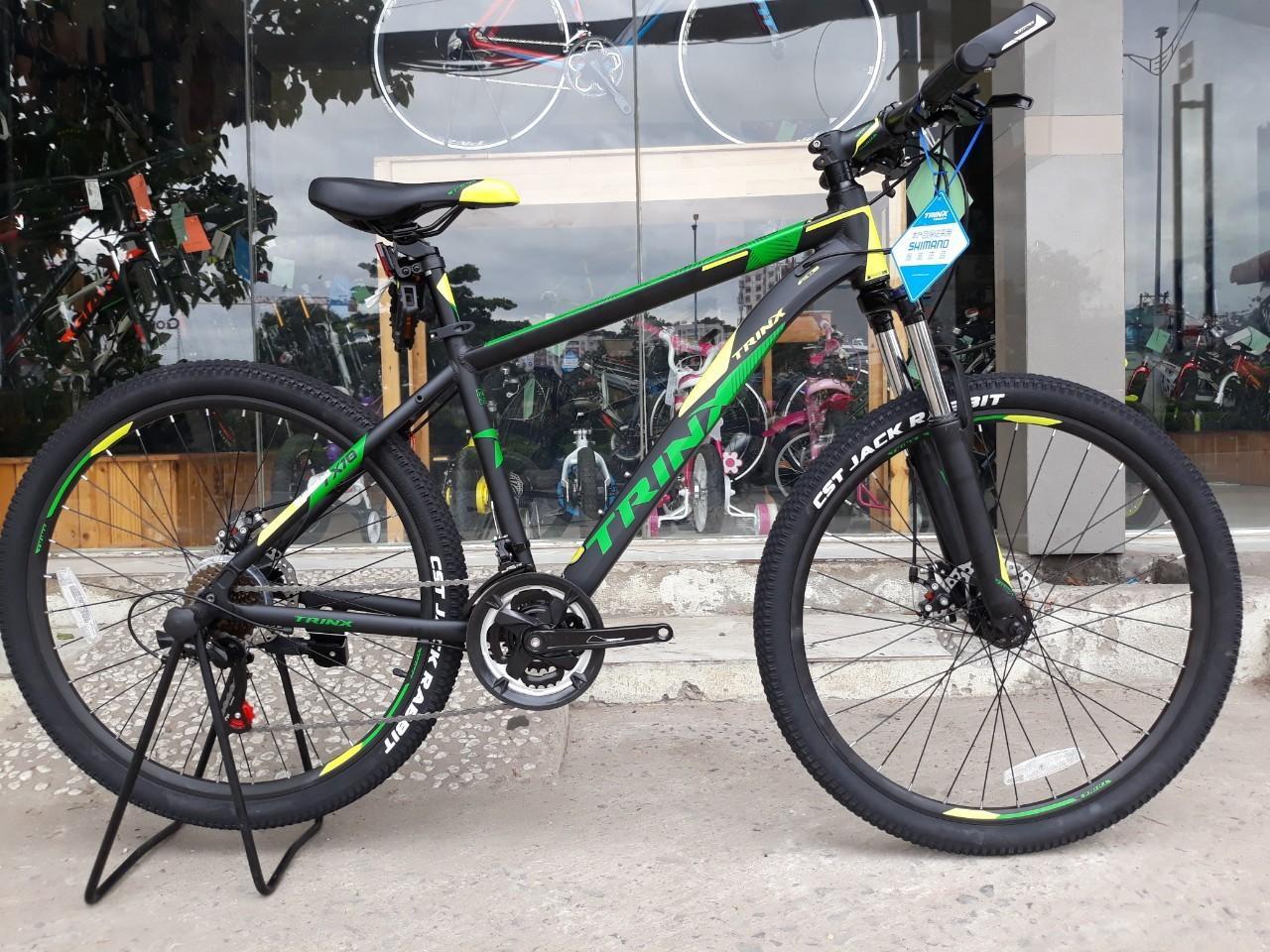 Xe đạp địa hình TrinX TX18 2018 Black Green