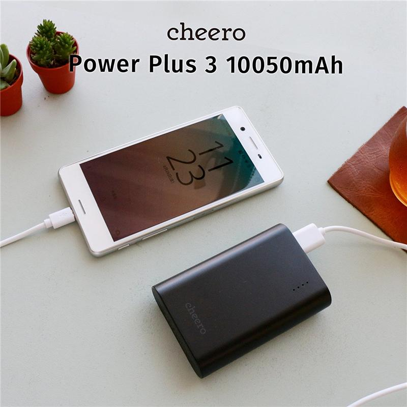 Pin dự phòng Nhật Bản bền đẹp cheero Power Plus 3 CHE-072 (10050 mAh) – Review và Đánh giá sản phẩm