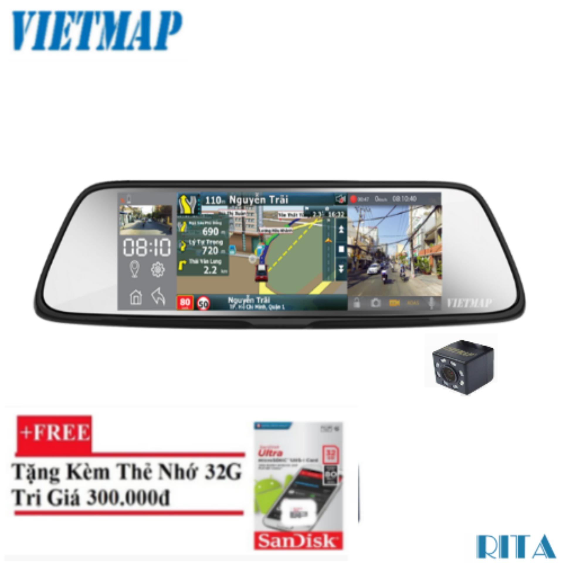Camera Hành Trình O To Dãn Đường Vietmap G79 Thẻ 32Gb Rẻ